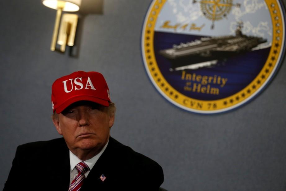 Donald Trump avait déclenché un tollé le 4... (REUTERS)