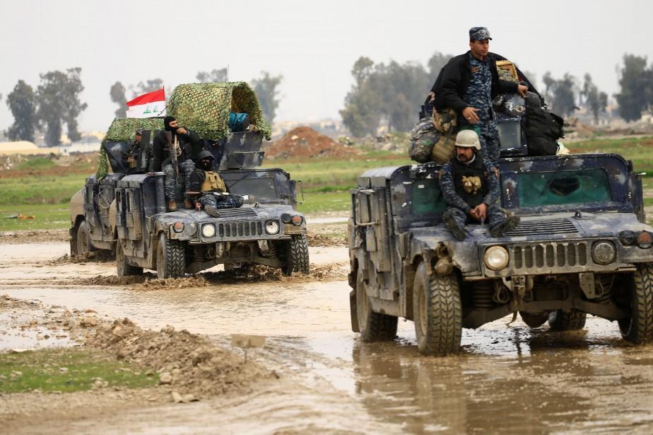La chute de Mossoul, dernier grand bastion de... (REUTERS)
