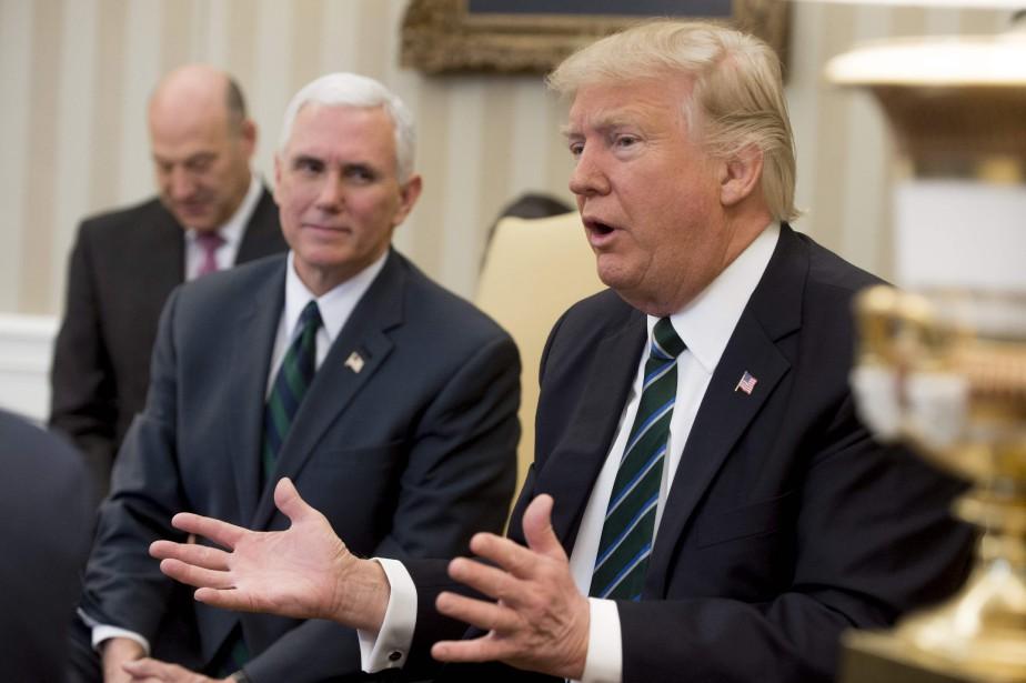 Avant Donald Trump,Richard Nixon, Ronald Reagan et George... (PHOTO SAUL LOEB, ARCHIVES AFP)
