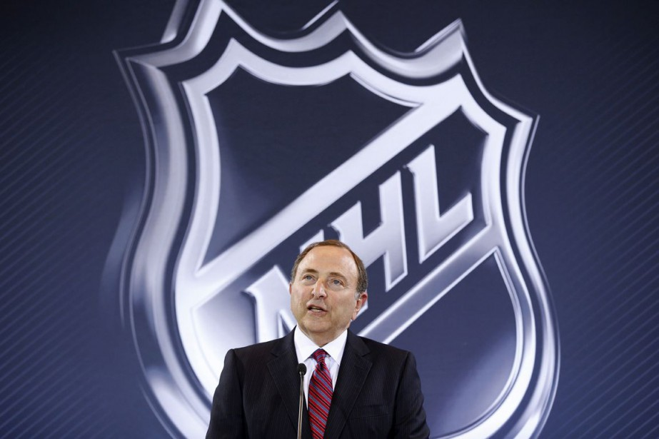 Le commissaire de la LNH, Gary Bettman.... (Photo John Locher, archives AP)