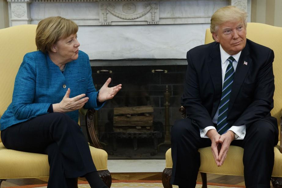 Le président américain Donald Trump a rencontré la... (Photo Evan Vucci, AP)