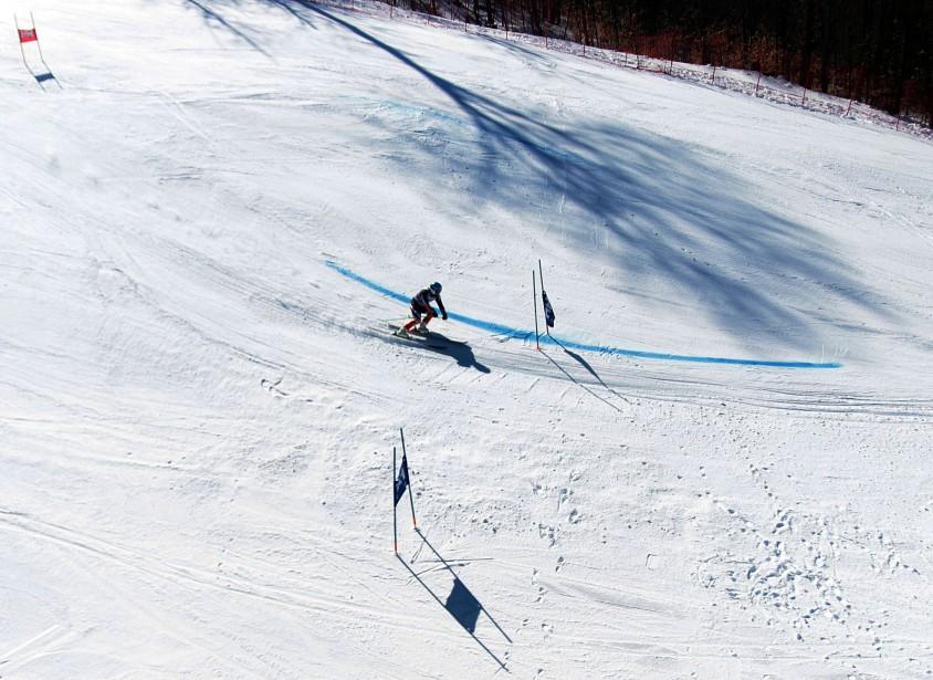Finales masculines du circuit Nor-Am de ski alpin au Mont Sainte-Marie. | 17 mars 2017