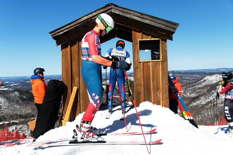 Finales masculines du circuit Nor-Am au Mont Sainte-Marie. | 17 mars 2017