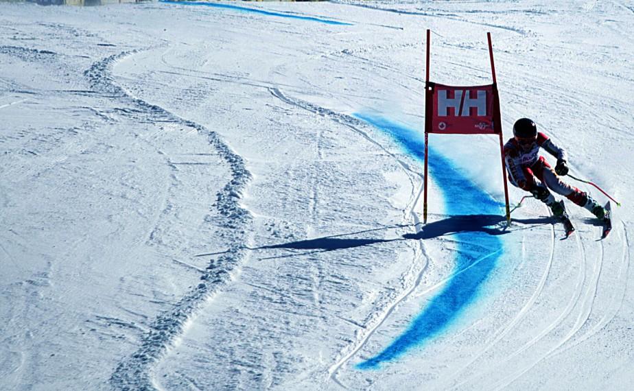 Finales masculines du circuit Nor-Am de ski alpin au Mont Sainte Marie. | 17 mars 2017