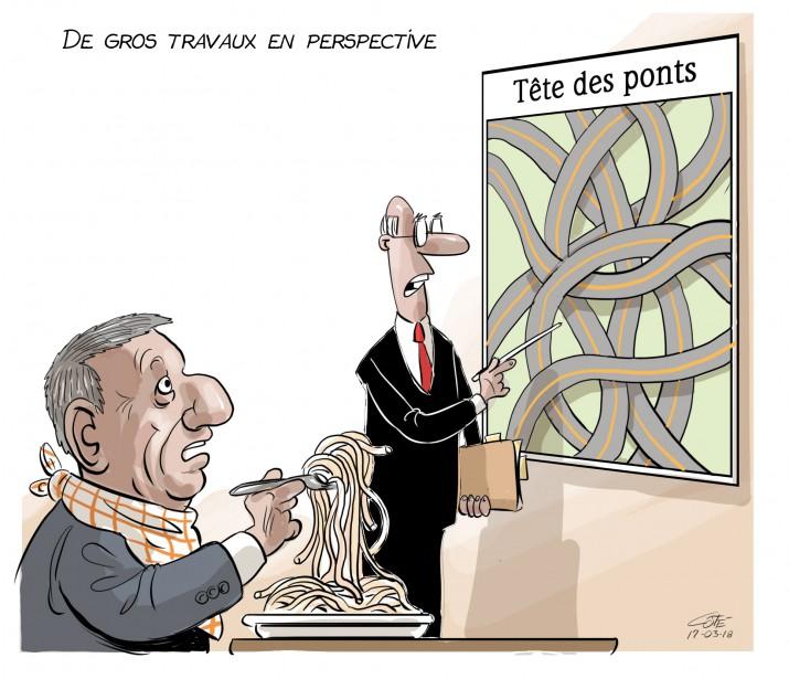Caricature du 18 mars | 17 mars 2017