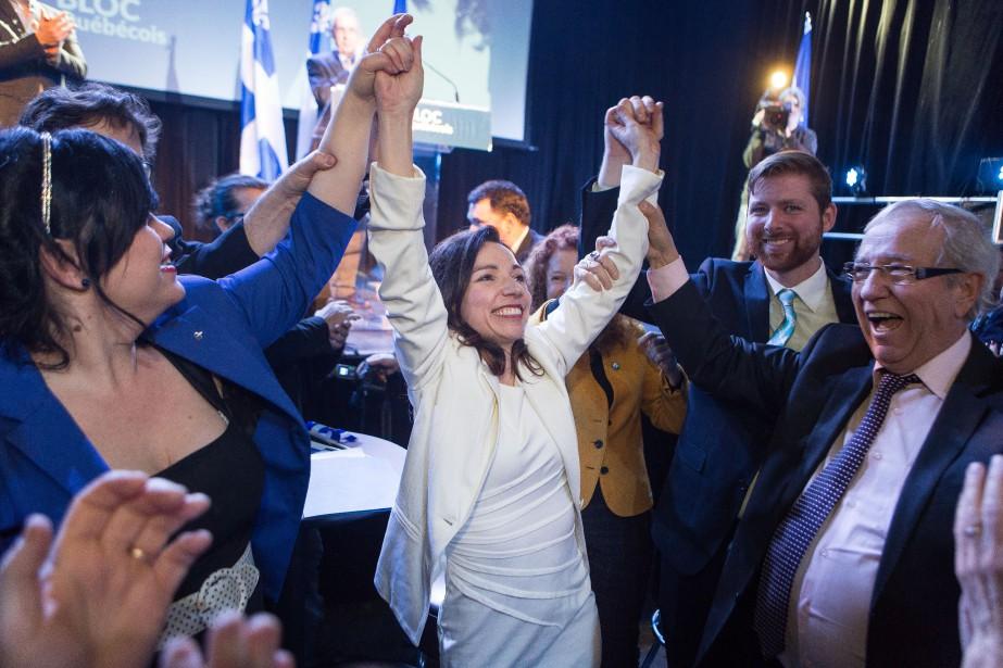 Martine Ouellet devient la première femme à diriger... (PHOTO SIMON GIROUX, LA PRESSE)