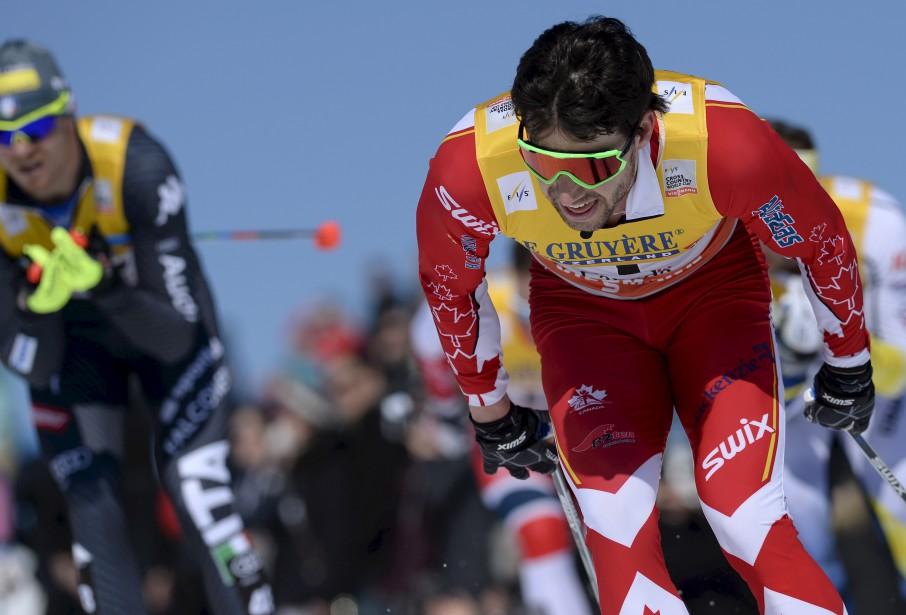 Après avoir remporté le sprint, vendredi, Alex Harvey a terminé 4e au 15 km classique, samedi. (Le Soleil, Yan Doublet)
