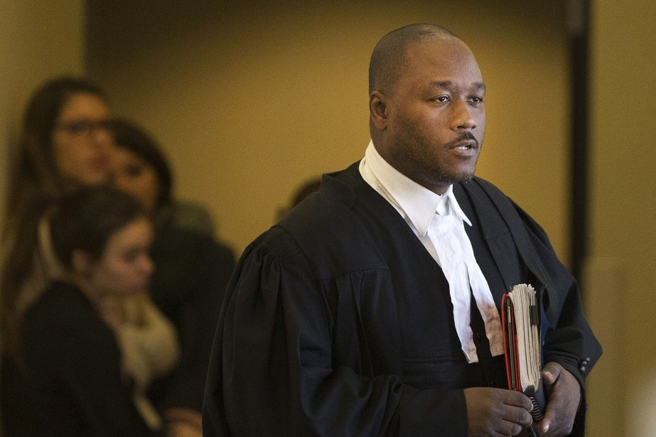 L'un des avocats représentant Bertrand Charest, Jacky-Éric Salvant.... (PHOTO ROBERT SKINNER, ARCHIVES LA PRESSE)