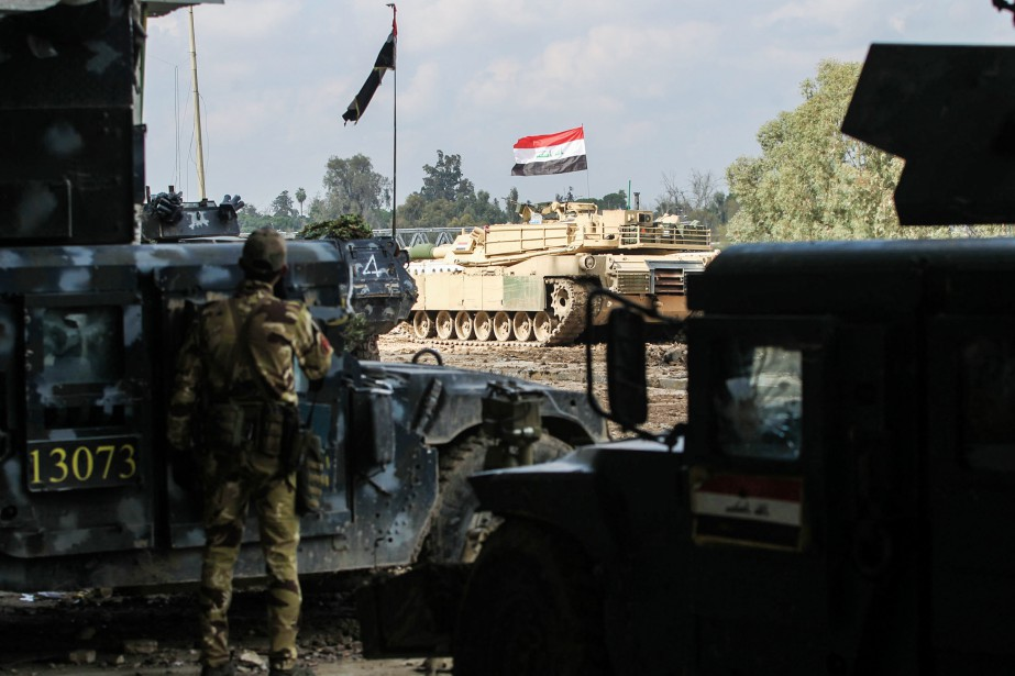 Située sur la rive occidentale du Tigre, la... (Photo Ahmad Al-Rubaye, archives Agence France-Presse)