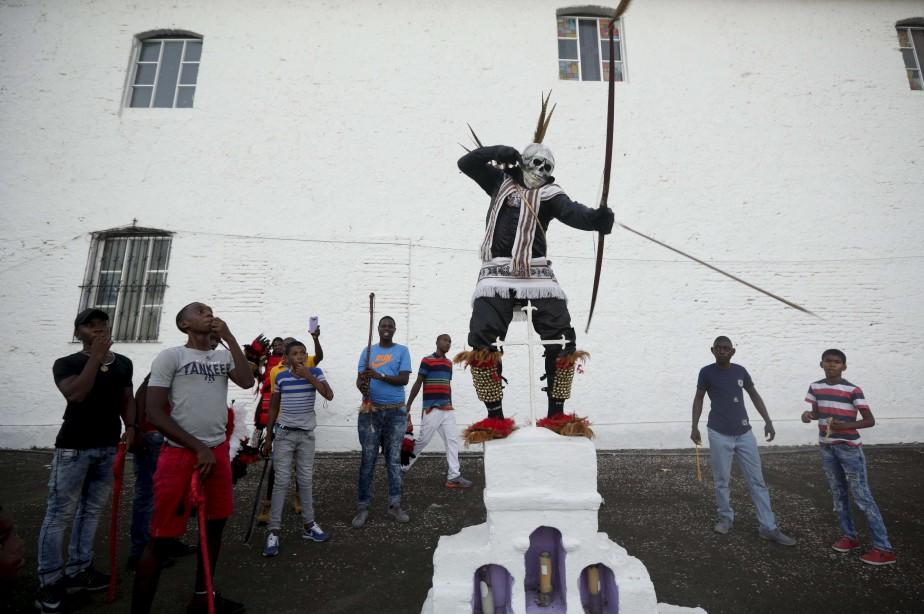 Les habitants de Portobelo, au Panama, rendent hommage à leurs ancêtres qui ont échappé à l'esclavagisme. | 19 mars 2017