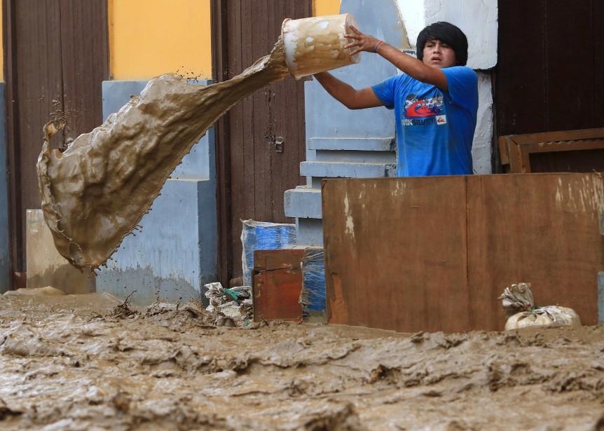 Une inondation frappe la ville de Trujillo, au Pérou. | 19 mars 2017