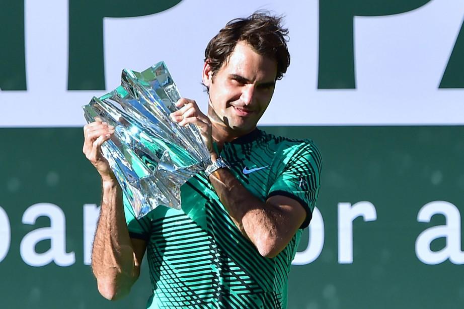 À 35 ans et sept mois, Federer est... (PHOTO AFP)