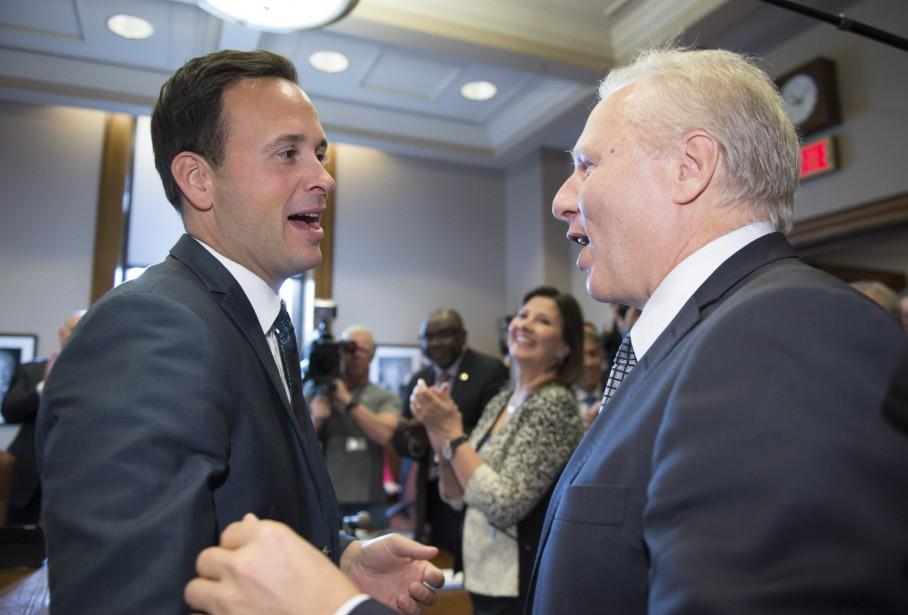 Alexandre Cloutier a exprimé son optimisme sur la... (Photo Jacques Boissinot, archives La Presse canadienne)