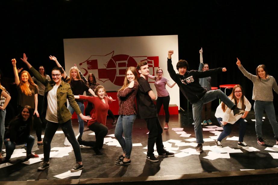 Les élèves de l'option théâtre de l'école secondaire J.-H.-Leclerc de Granby présenteront la comédie musicale High School Musical. | 20 mars 2017