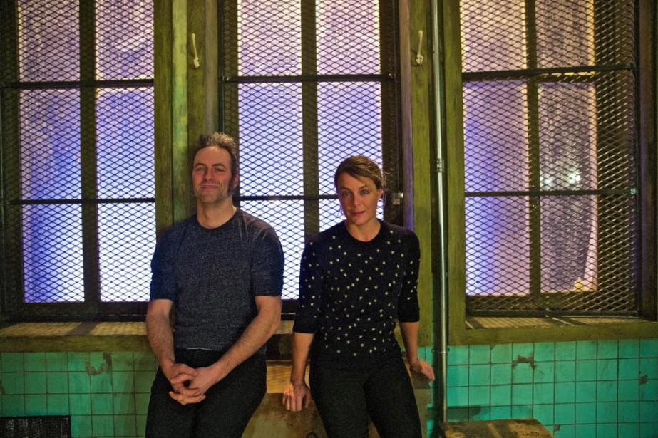 Mathieu Quesnel et JulieLeBreton incarnent les rôles de... (Photo André Pichette, La Presse)