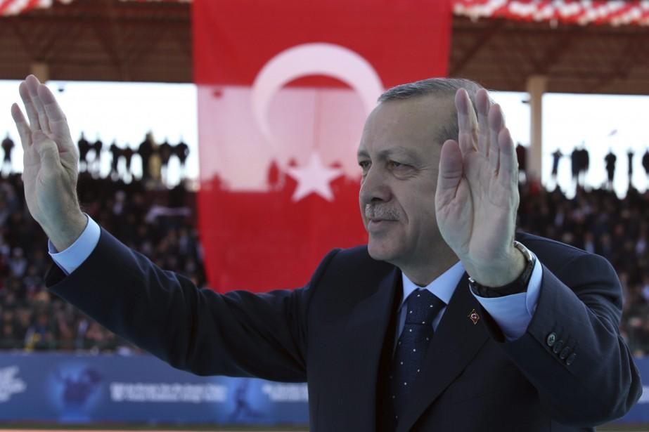 Le président turc Recep Tayyip Erdogana énuméré les... (AP)