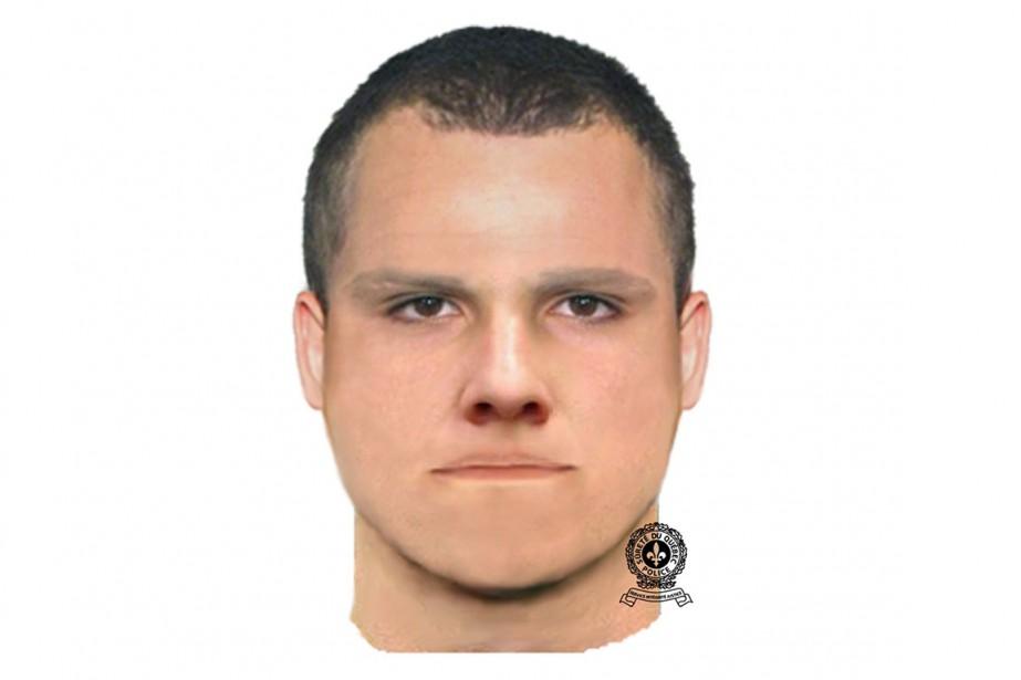 La Sûreté du Québec vient de diffuser le portrait-robot d'un suspect dans...