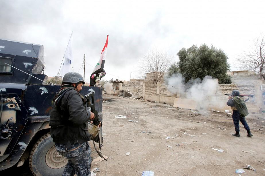 Après avoir reconquis fin janvier la partie orientale... (Photo Youssef Boudlal, Reuters)