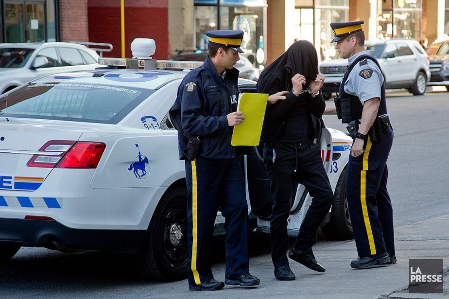 Plusieurs personnes ont été arrêtées dans le cadre... (Photo David Boily, archives La Presse)
