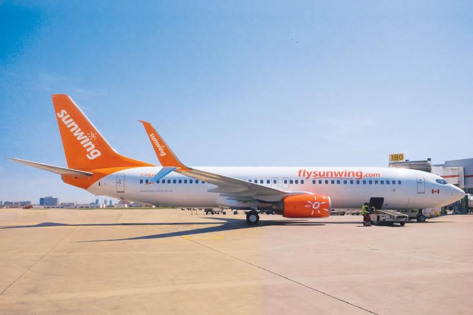 Le pilote avait été retrouvé affaissé dans son... (PHOTO D'ARCHIVES FOURNIE PAR SUNWING)