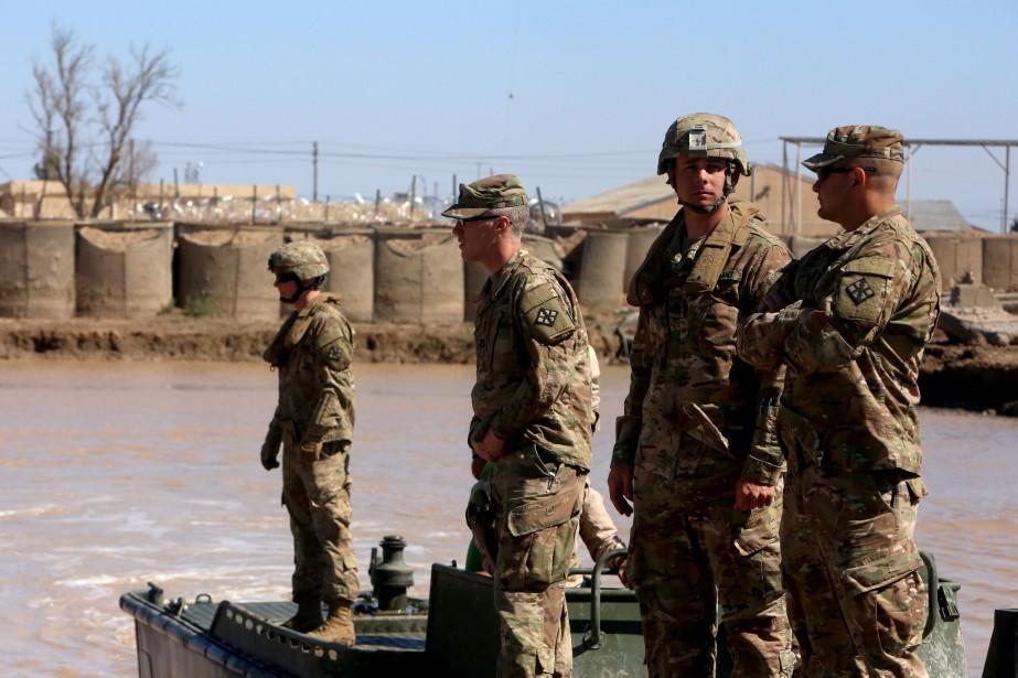 L'armée de terre américaine va devoir s'adapter à... (PHOTO AFP)