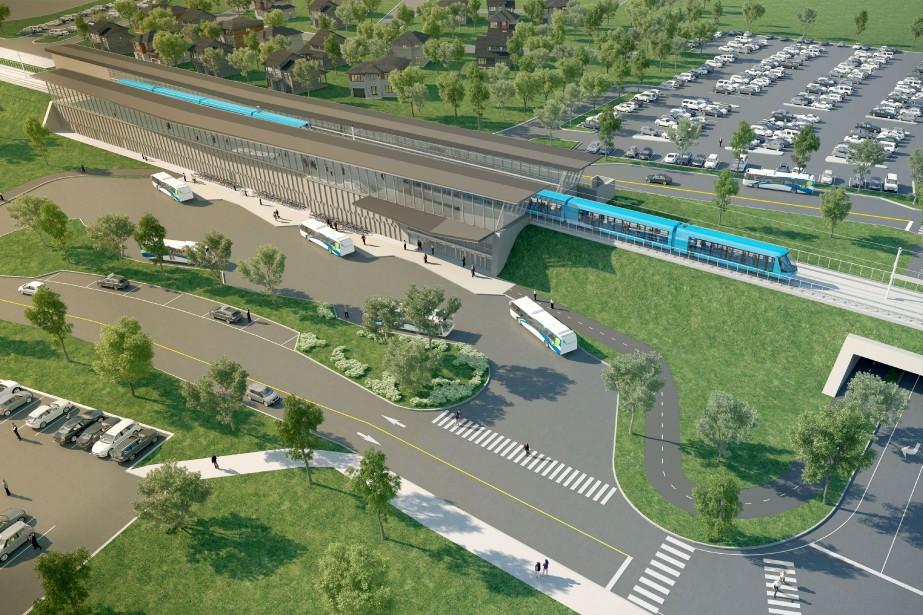Deux de ces trois grands et coûteux projets... (ILLUSTRATION FOURNIE PAR CDPQ Infra)