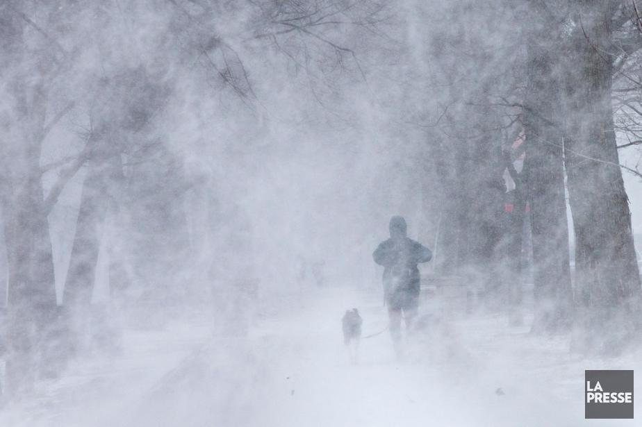 La tempête ayant frappé le Québec la semaine... (PHOTO PATRICK SANFAÇON, ARCHIVES LA PRESSE)