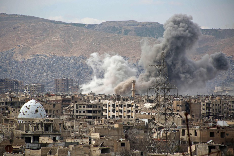 Un porte-parole militaire américain a reconnu que la... (PHOTO AFP)