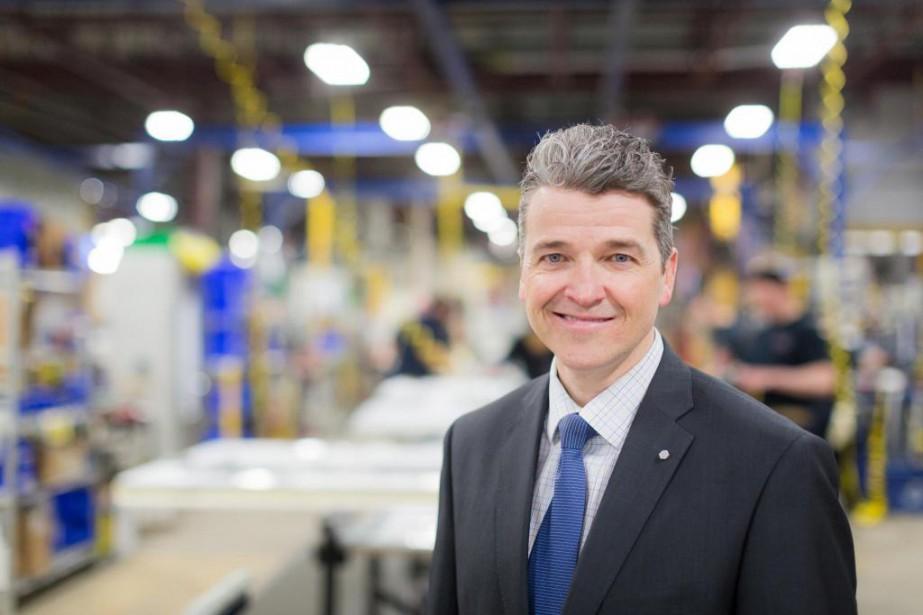 Luc Ménard, chef de l'exploitation de Desjardins Capital... (Photo Edouard Plante-Fréchette, La Presse)