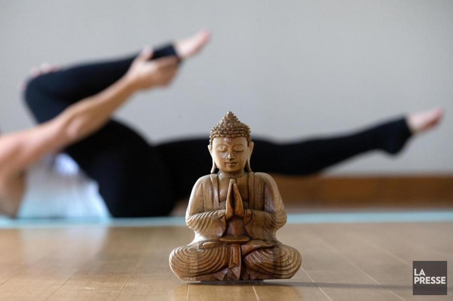 Le pilates est une série d'exercices qui renforcent... (Photo Robert Skinner, La Presse)