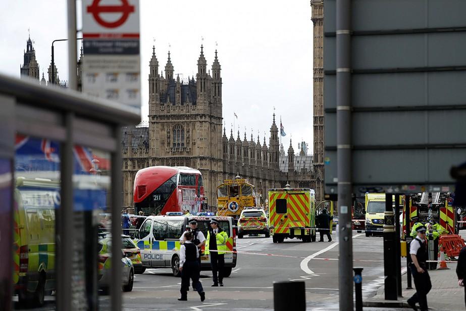 Vous vous trouvez actuellement au centre-ville de Londres et... (Matt Dunham, AP)
