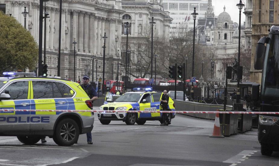 Le parlement britannique a été cadenassé par les forces de l'ordre, mercredi. | 22 mars 2017