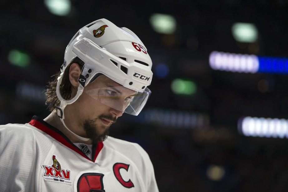 Erik Karlssonconnaît la saison la plus complète d'une... (Photo Olivier Jean, La Presse)