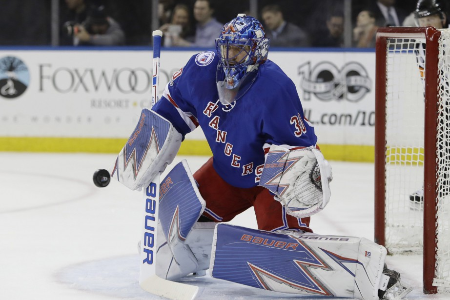 Henrik Lundqvist... (Photo Frank Franklin II, AP)