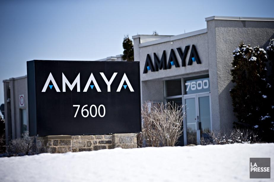Amaya a affiché un bénéfice net de 45... (Photo Patrick Sanfaçon, archives La Presse)