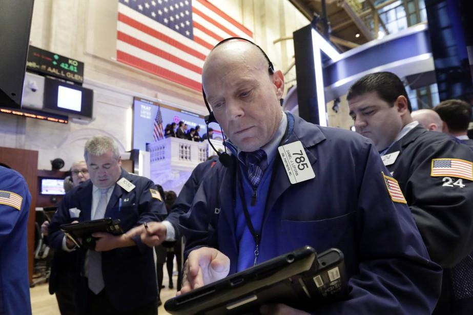 Wall Street n'a pas dégagé de tendance mercredi au... (Photo Richard Drew, AP)