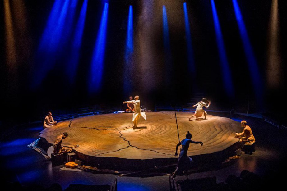 La pièce Until the Lions s'inspire du conte d'Amba,... (PHOTO TRISTRAM KENTON, FOURNIE PAR LA AKRAM KHAN COMPANY)