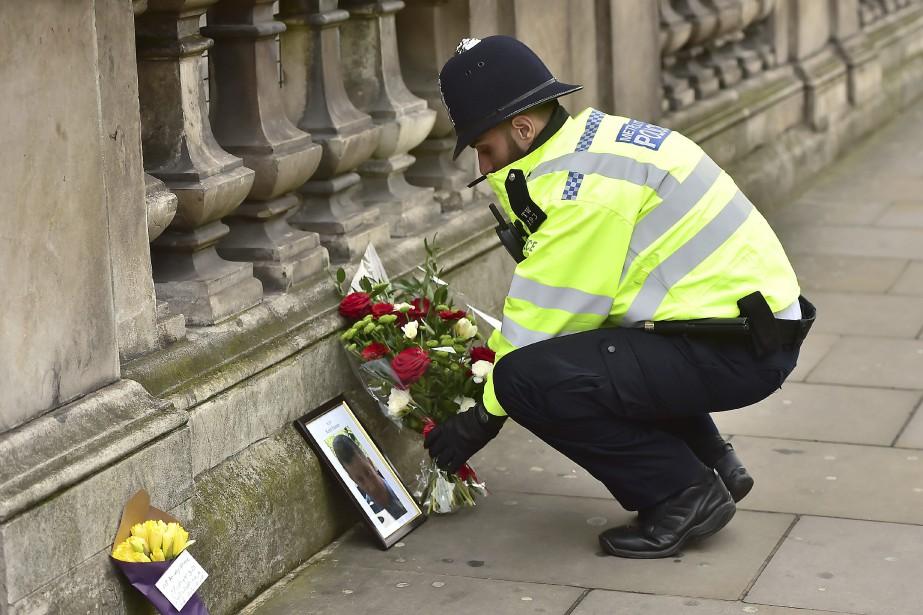 «L'auteur de l'attaque en face du Parlement britannique... (AP)