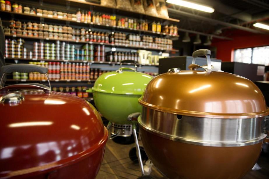 BBQ Québec rayonne maintenant de plus en plus... (PHOTO Martin Chamberland, LA PRESSE)