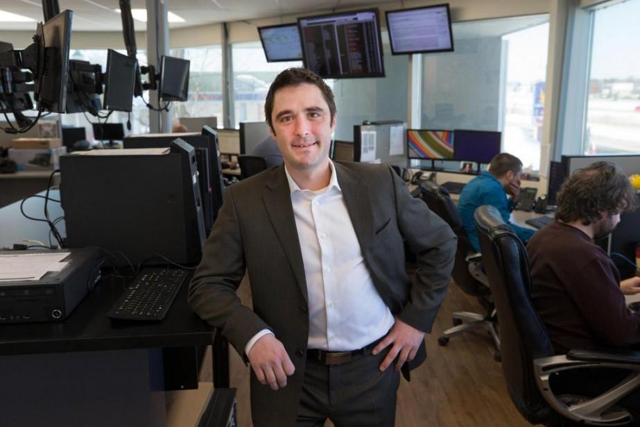 Mathieu Jacques, président-fondateur de Microfix... (PHOTO ROBERT SKINNER, LA PRESSE)