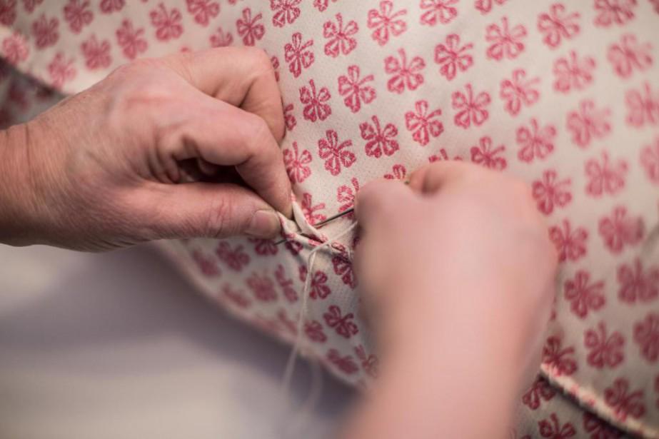 La laine, une fois lavée, conserve sa couleur... (Photo Olivier PontBriand, La Presse)