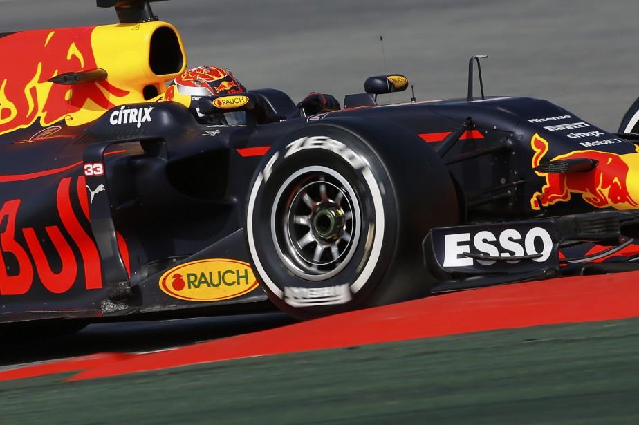 Le piloteMax Verstappen, de l'écurie Red Bull, au... (photo AP)