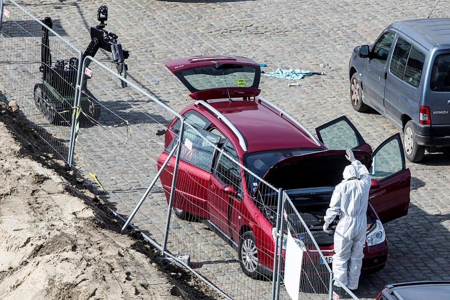 «Mohamed R.» a été arrêté jeudi après avoir... (Photo Joris Herregods, REUTERS)