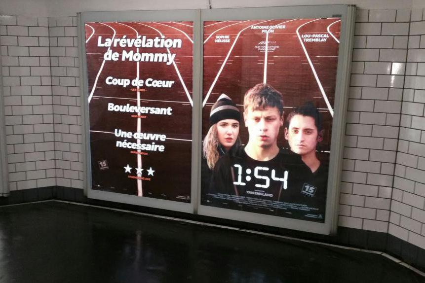 L'affiche de 1:54, un film de Yan England,... (Photo fournie par ARP Sélection)