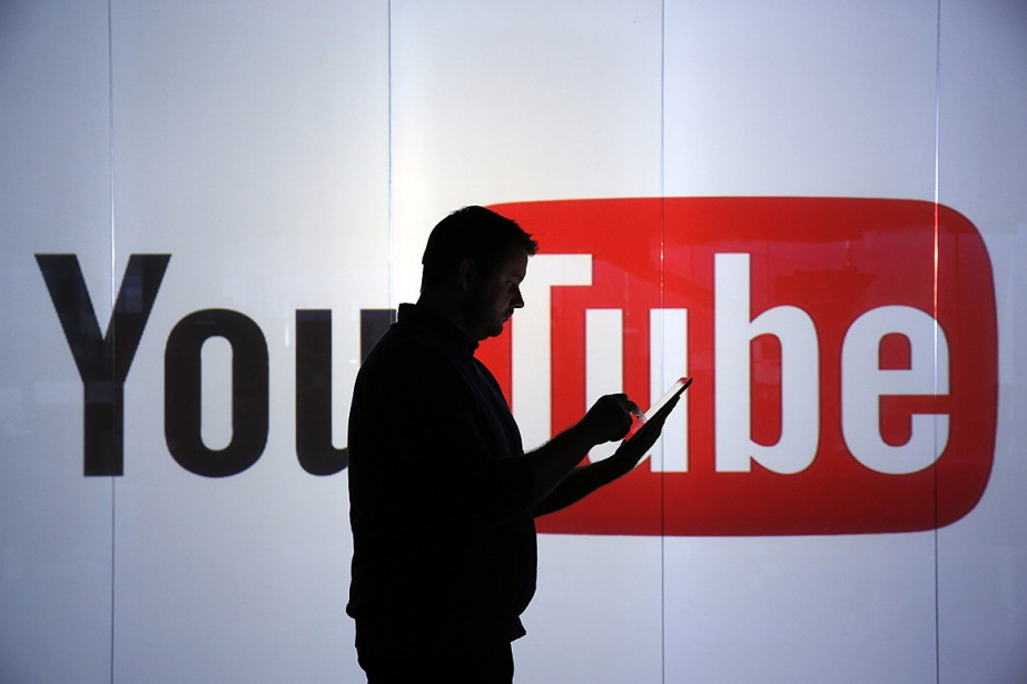 En février, YouTube a rompu des contrats publicitaires... (Photo Chris Ratcliffe, archives Bloomberg)