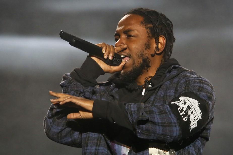 Kendrick Lamar... (Photo Jack Plunkett, archives AP)