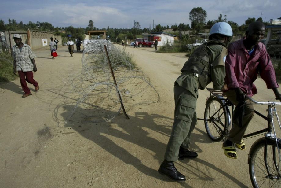 Des membres de la milice Kamwina Nsapu ont... (Photo archives AP)