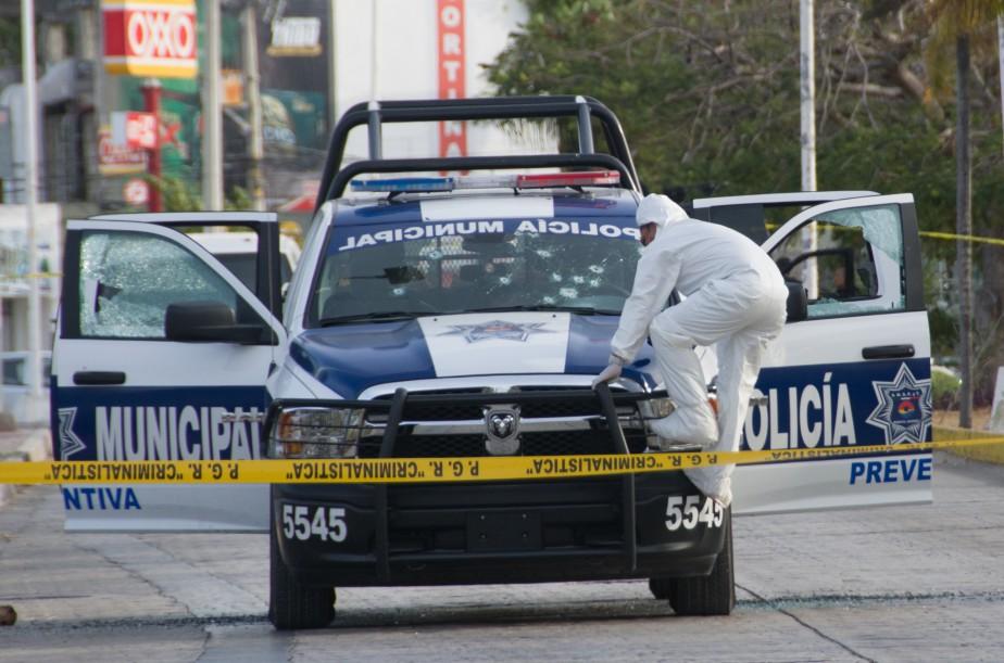 Il s'agirait de la 28emort violente enregistrée à... (Photo AFP)