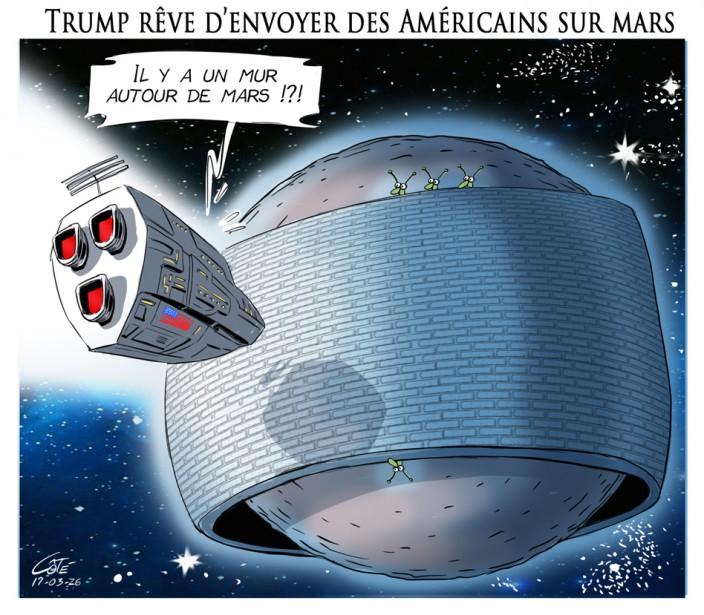 Caricature du 26 mars | 25 mars 2017