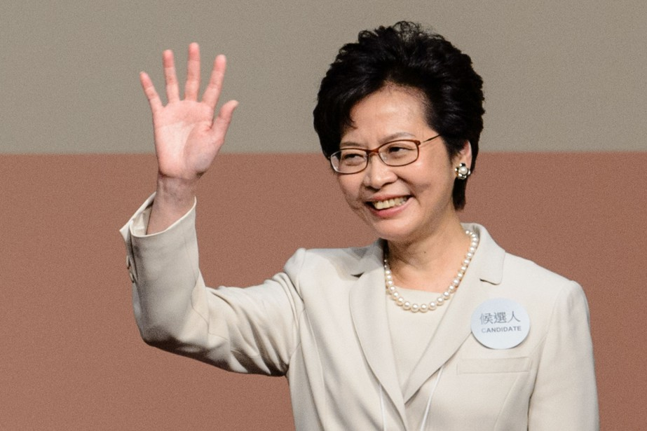 Carrie Lam... (Photo ANTHONY WALLACE, Agence France-Presse)